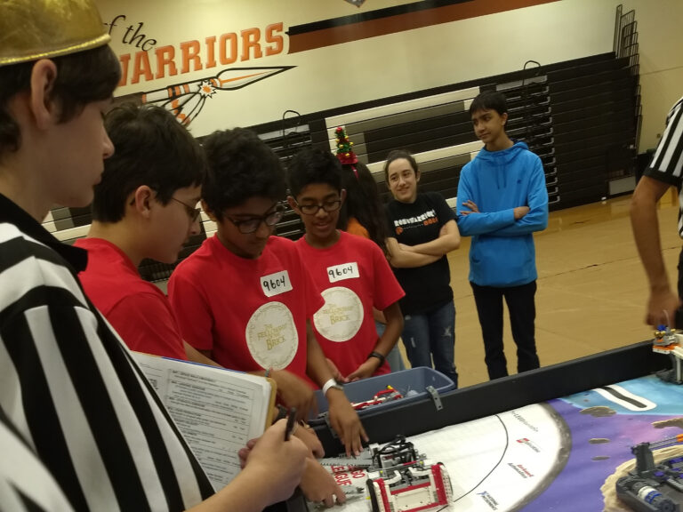 Hosting FIRST Lego League at Westwood, 2019